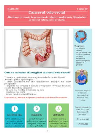 despre cancerul colorectal