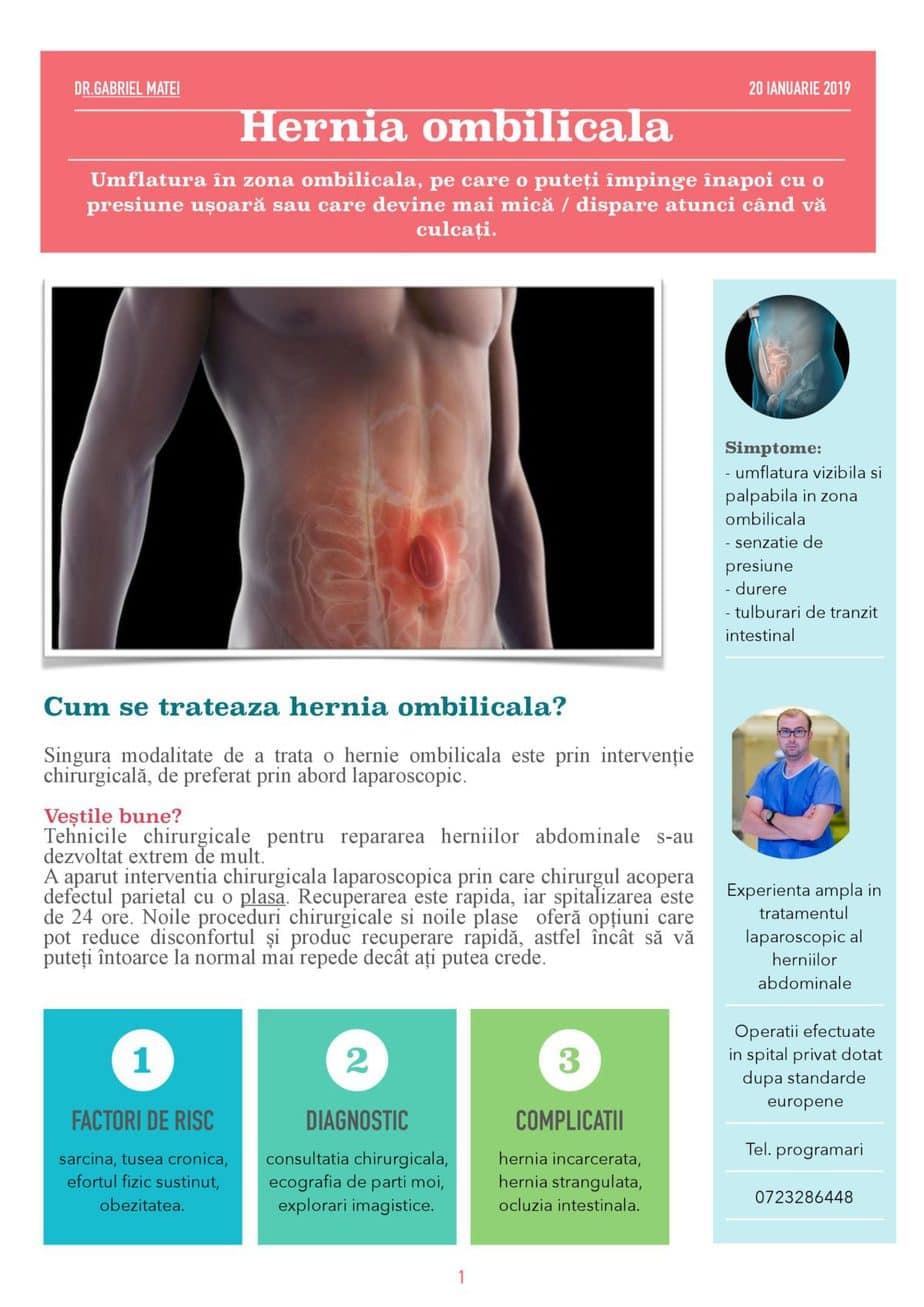 Hernia ombilicala-Dr.Gabriel Matei